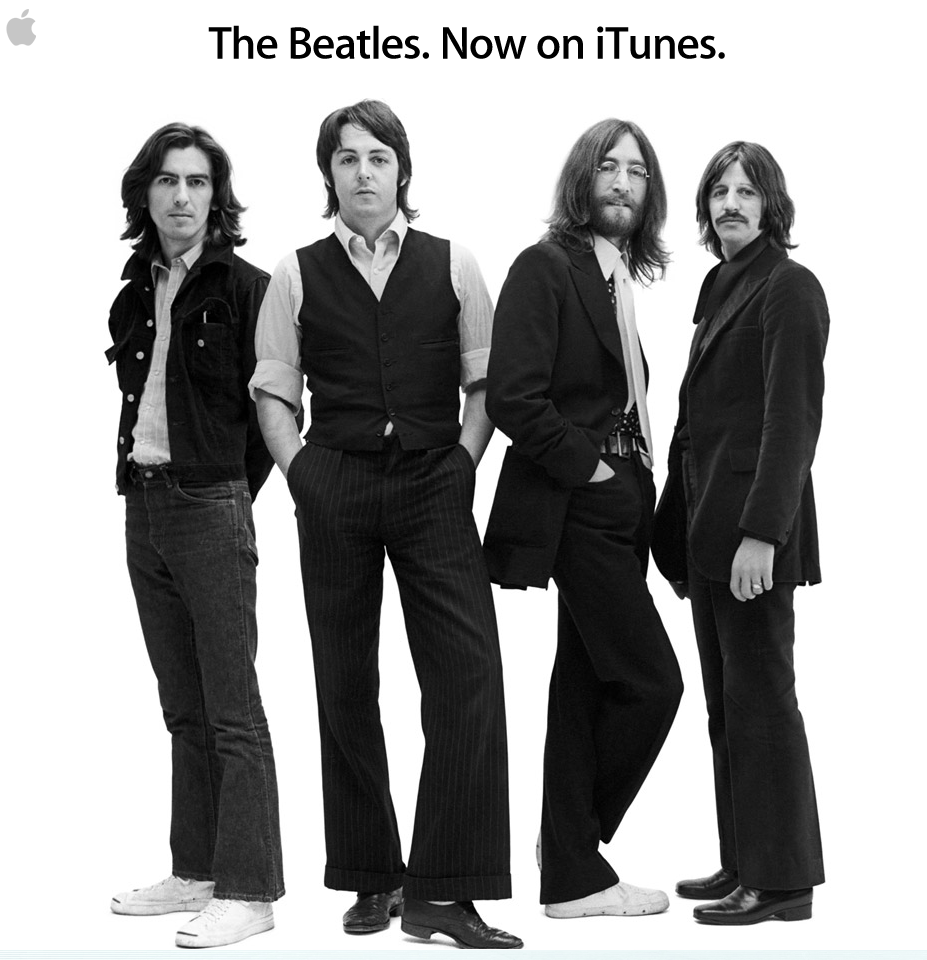 The Beatles itunes Steve Jobs