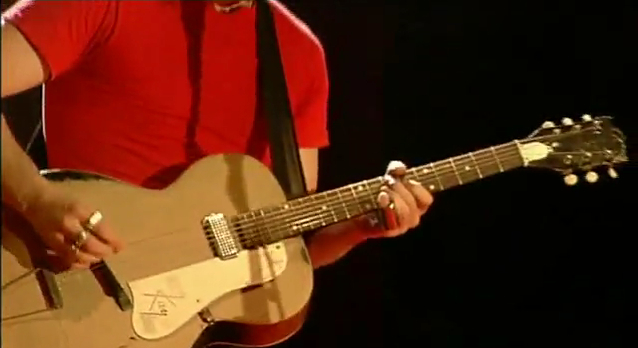 Jack White Kay Hollowbody Paper Bag Guitar The White Stripes