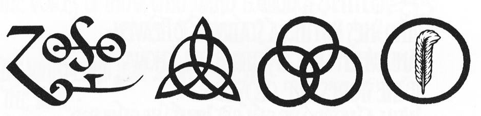 Led Zeppelin Symbols Crop Circles