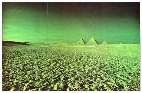 Great Pyramids of Giza Pink Floyd Dark Side Of The Moon Insert Poster