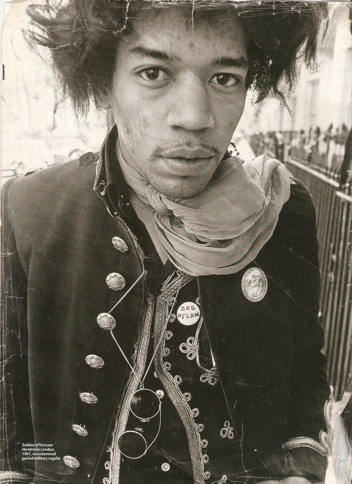 Jimi Hendrix Royal Army Veterinary Corps Jacket