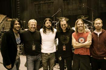 Rush Foo Fighters Toronto Canada Taylor Hawkins Dave Grohl Geddy Lee Alex Lifeson