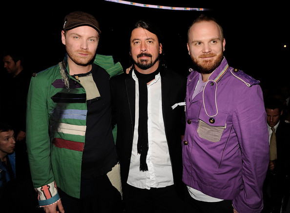 Dave Grohl Foo Fighters Coldplay Will Champion Jonny Buckland