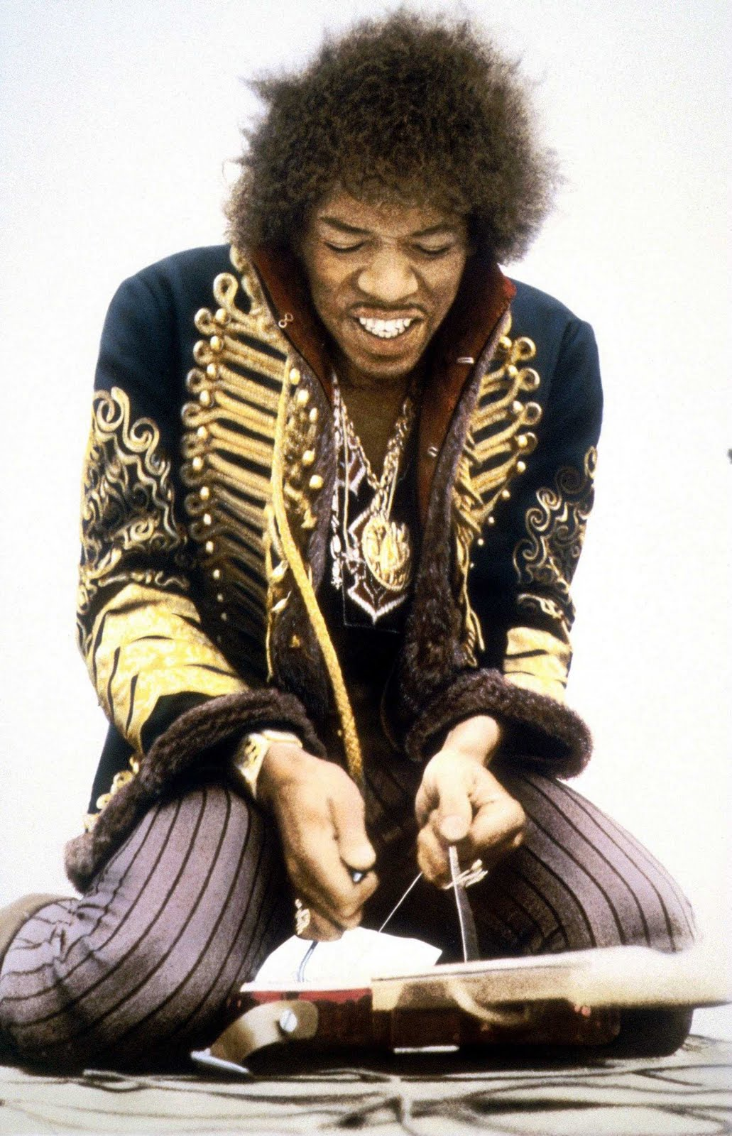 Jimi Hendrix Royal Hussars Military Jacket