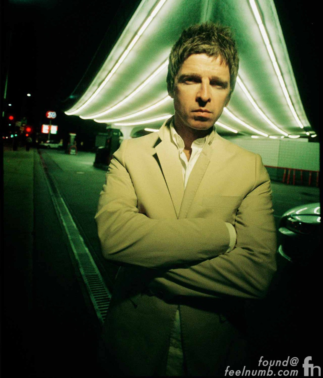 Noel Gallagher Album Cover Photo Location Jack Colker Union 76 Gas Petrol Station feelnumb.com