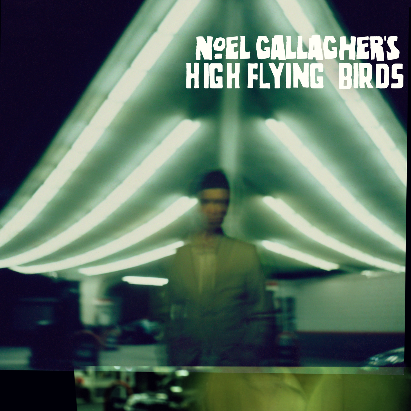 Noel Gallagher's High Flying Birds Album Cover Gas Station Location