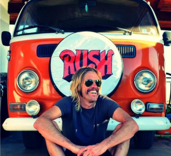 taylor hawkins foo fighters rush chevy metal
