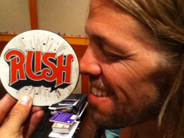 Taylor Hawkins Rush Fan Foo Fighters