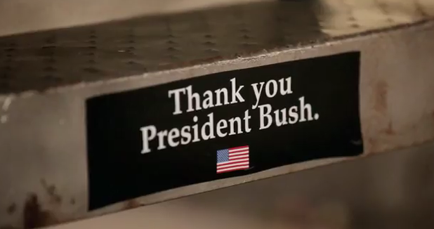 Thank You President Bush Foo FIghters Walk Video