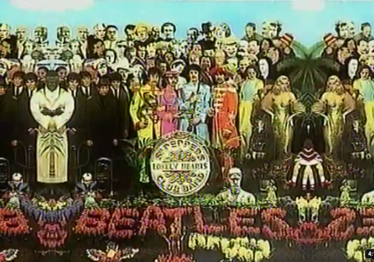 The Beatles Anthology Day In The Life Sgt. Pepper Walrus Image