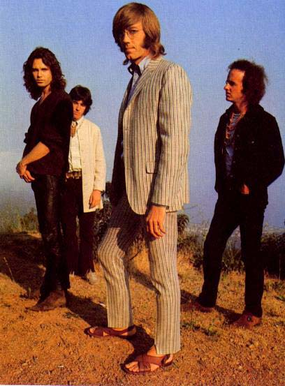 The Doors Waiting For The Sun Album Cover Photo Shoot