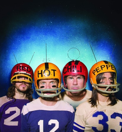Red Hot Chili Peppers Football Helmets Stadium Arcadium The Who Odds And Sods