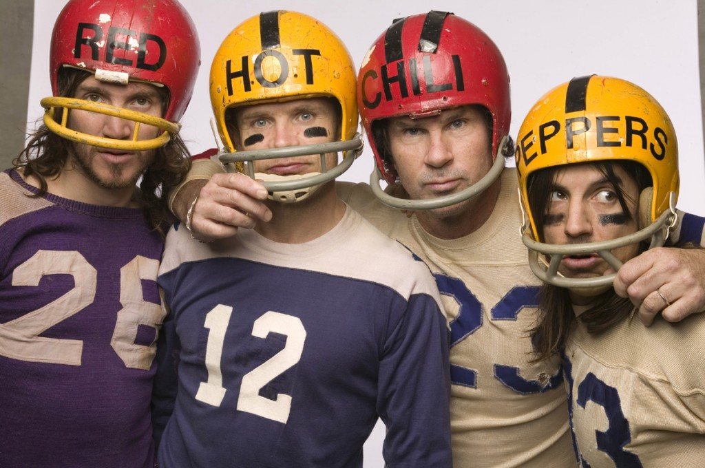 Red Hot Chili Peppers Football The Who Odds And Sods Helmets