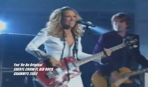 Sheryl Crow Grammy Awards 2003 Elvis BBC Commercial