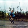 Bob Dylan George Harrison Tennis Match 1969