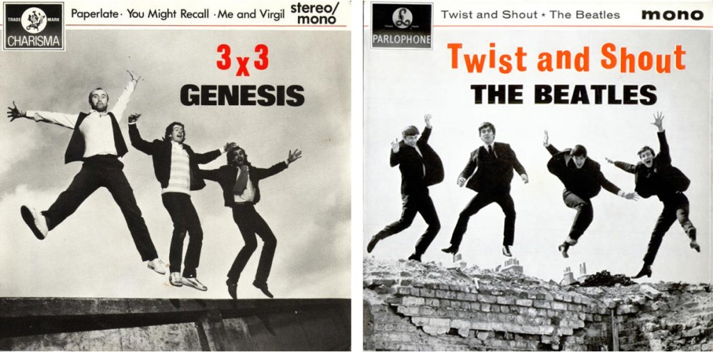 Genesis 3X3 E.P.  The Beatles Twist And Shout Album Covers