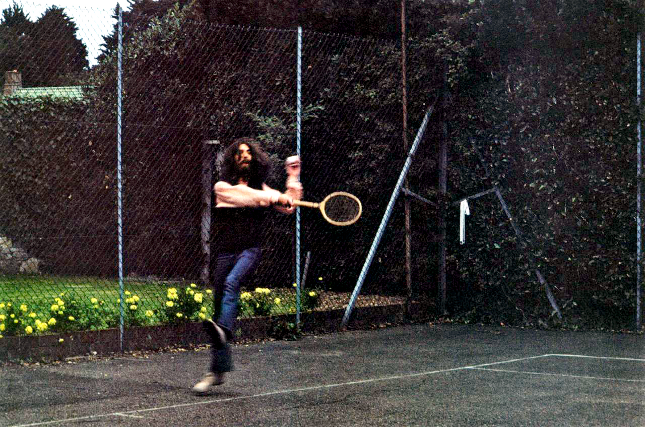 George Harrison Bob Dylan Tennis Match Isles Of WIght