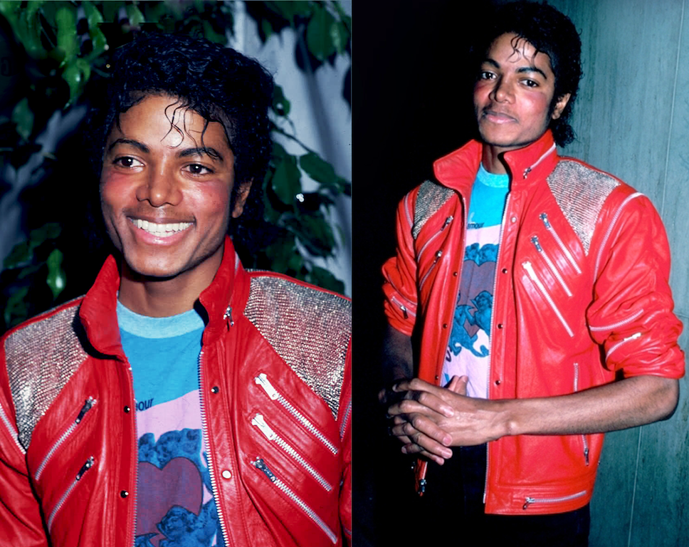 Michael Jackson Beat It Video Shirt Under Jacket