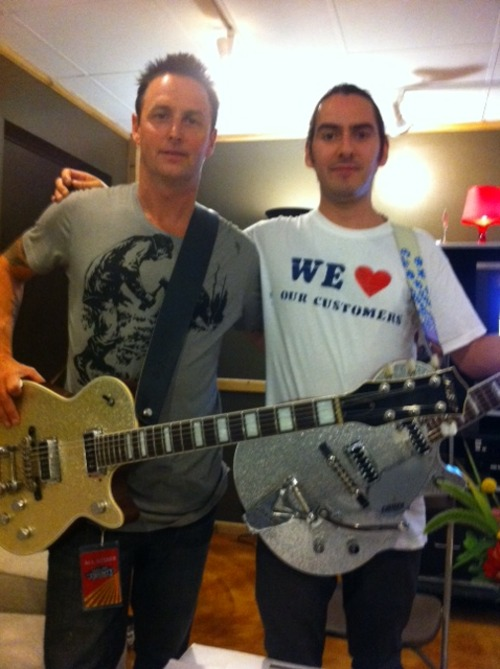 Mike McCready Dhani Harrison Pearl Jam