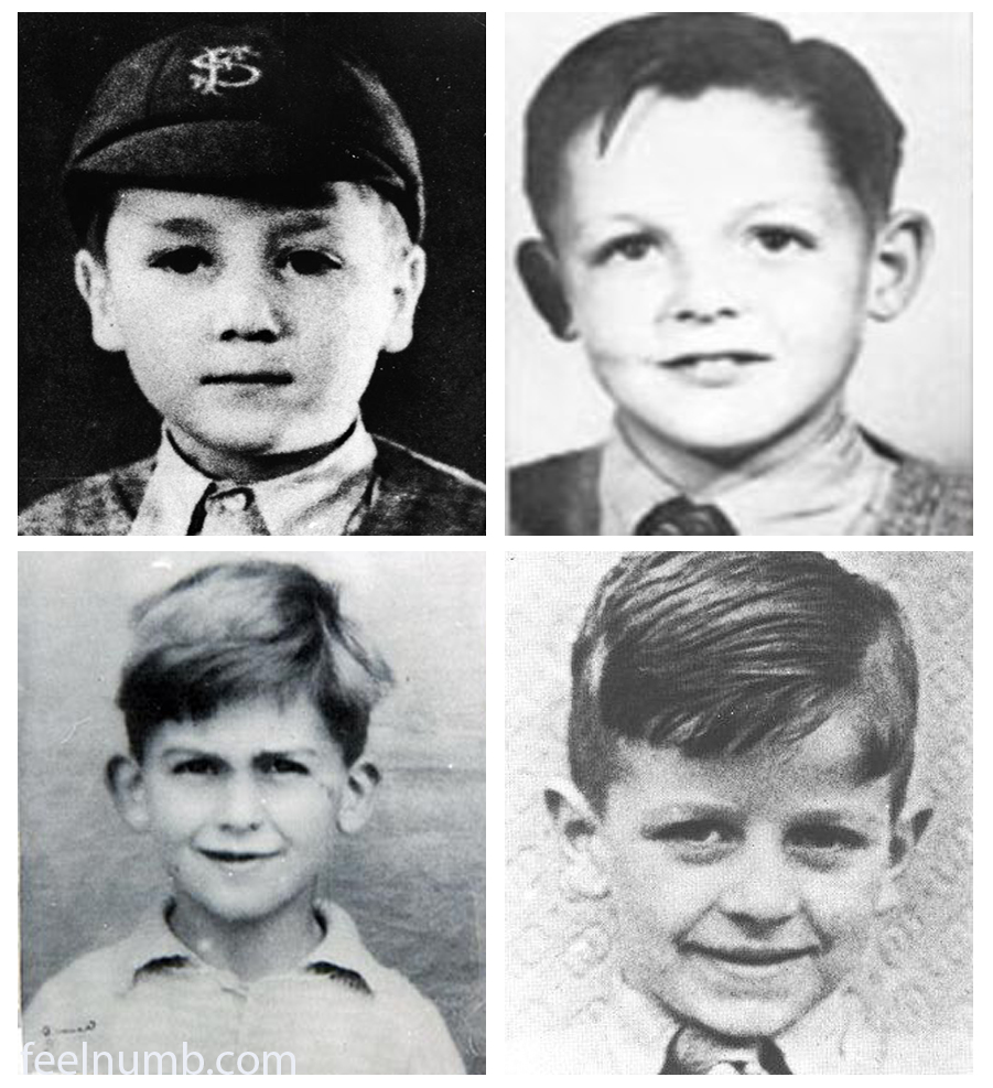 The Beatles John Lennon Paul McCartney George Harrison Ringo Starr As School Children