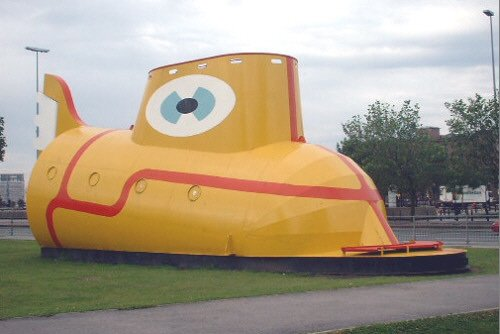 Yellow Submarine Chavasse Park The Beatles