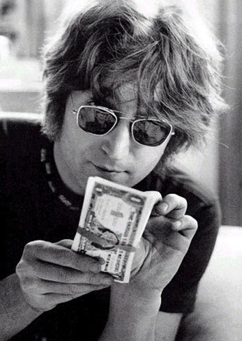 John Lennon Making It Rain Money