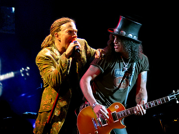 Axl Rose Slash Reunion Guns N' Roses