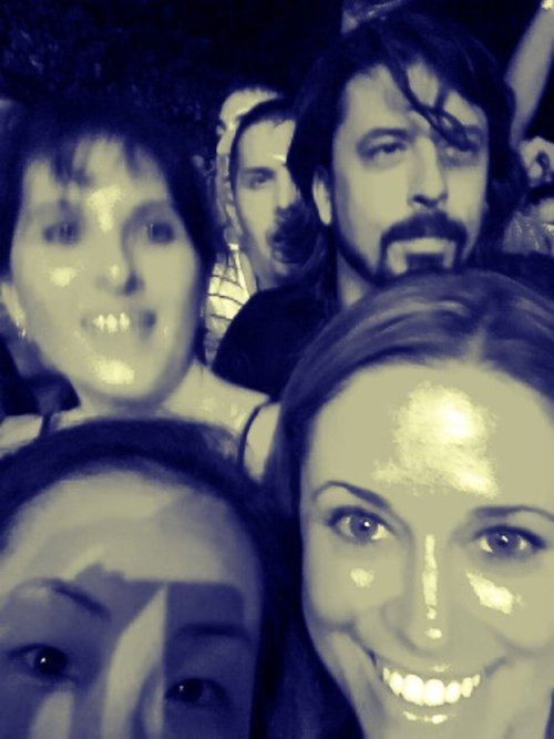 Dave Grohl In The Pit Soundgarden Concert 2011 Los Angeles