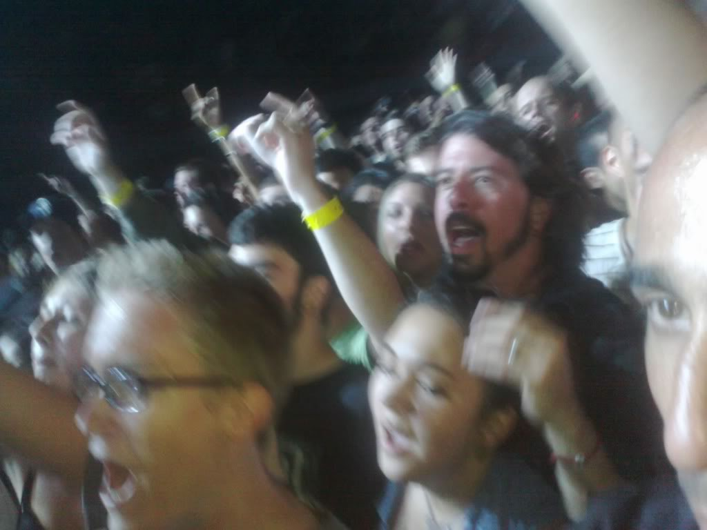 Dave Grohl Soundgarden Concert Floor Pit