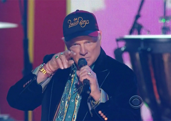 Mike Love The Beach Boys Wearing Beach Boys Hat