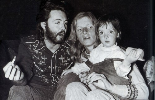 Paul McCartney Linda James Son Smoking Marijuana Pot