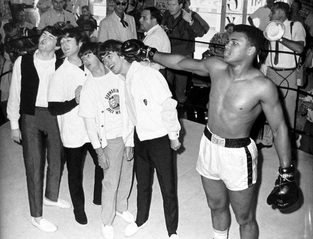Muhammad Ali The Beatles Musicians