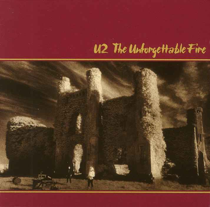 U2 The Unforgettable Fire Moydrum Castle
