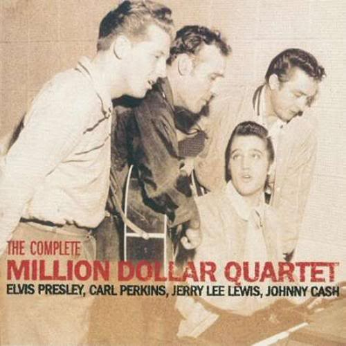 The Complete Milion Dollar Quartet Elvis Presley Johnny Cash Jerry Lee Lewis Carl Perkins