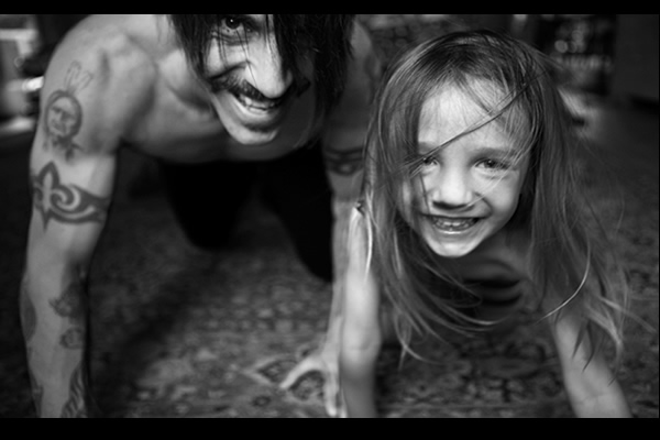 Anthony Kiedis Daughter Everly Bear Heather Christie