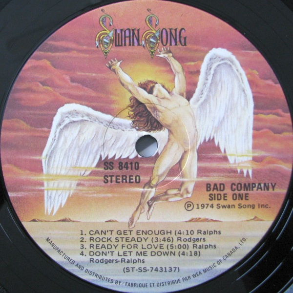 Bad Company Swan Song Logo