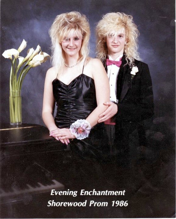 Layne Staley Alice In Chains 1986 Shorewood High School Prom Photo