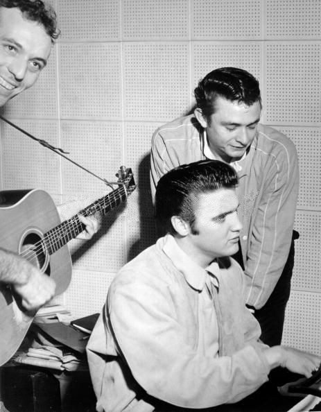 Million Dollar Quartet Elvis Presley Johnny Cash Jerry Lee Lewis Carl Perkins