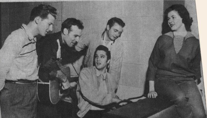 Marlyn Evans Million Dollar Quartet Elvis Presley Johnny Cash Carl Perkins Jerry Lee Lewis
