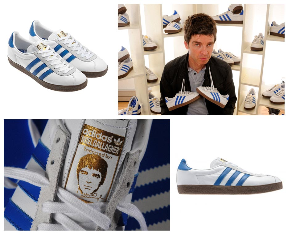 Noel Gallagher Adidas Tennis Shoe Trainer NG-72 Oasis