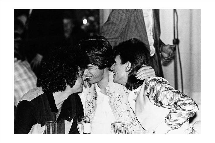 David Bowie Lou Reed Kiss Mick Jagger