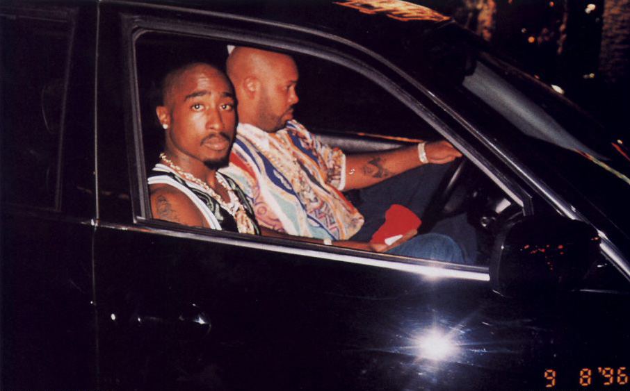 Tupac Shakur 2Pac Last Photo Suge Knight BMW Las Vegas September 7, 1996
