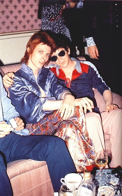 Lou Reed David Bowie Ziggy Stardust Kissing