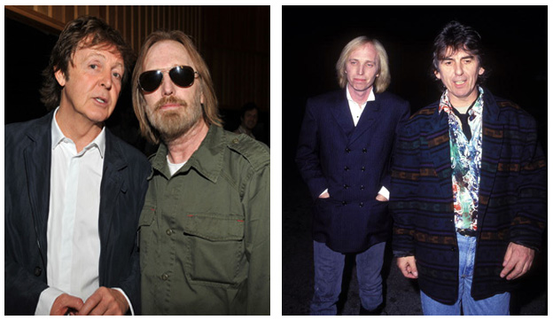 Tom Petty The Beatles Paul McCartney George Harrison