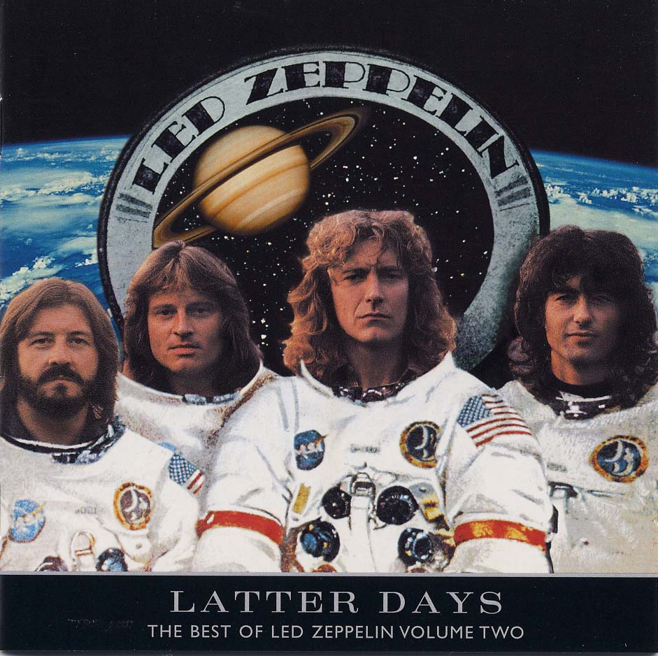 Apollo 14 NASA Led Zeppelin Best Of Volume Two Latter Days