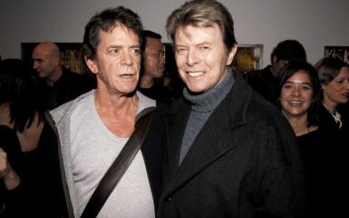 David Bowie Lour Reed Photo Together