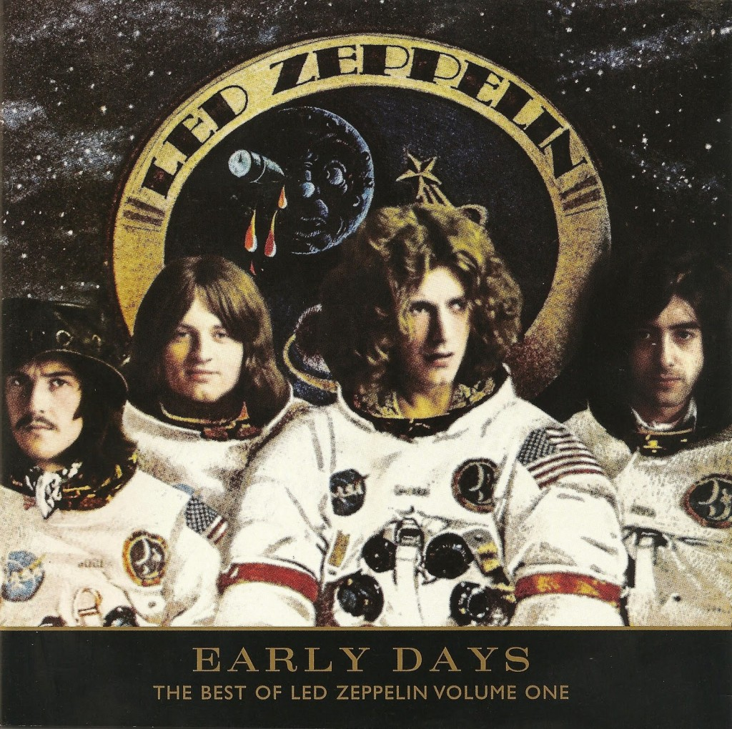 Led Zeppelin Early Days Album Cover Apollo 14 Mission Astronaut