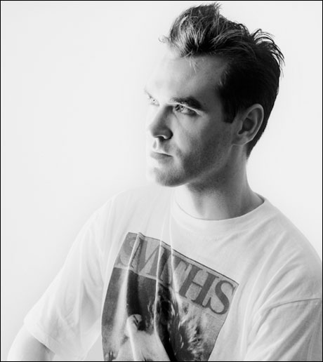 Morrissey Wearing The Smiths Band Shirt