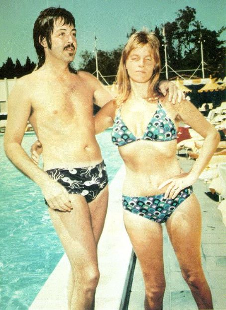 Paul McCartney Linda Swim Suits The Beatles