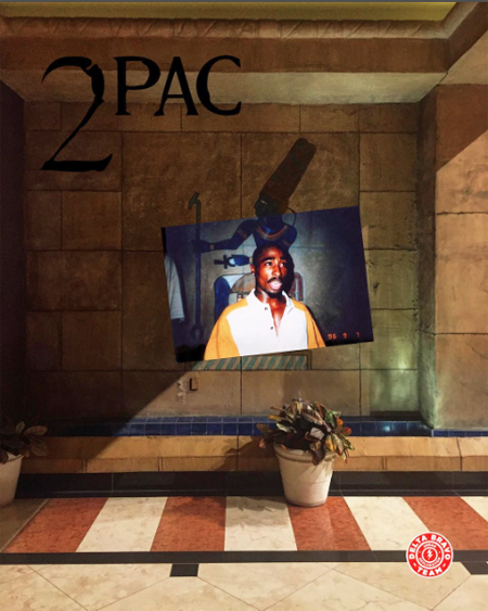 Tupac Shakur 2Pac Las Vegas Luxor Hotel September 7, 1996 Delta Bravo Urban Exploration Team Last Photo